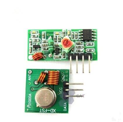 (5 пар = 10 шт.) модуль радиочастотного беспроводного приемника и модуль передатчика 433 МГц комплект звеньев приемника ARM/MCU WL