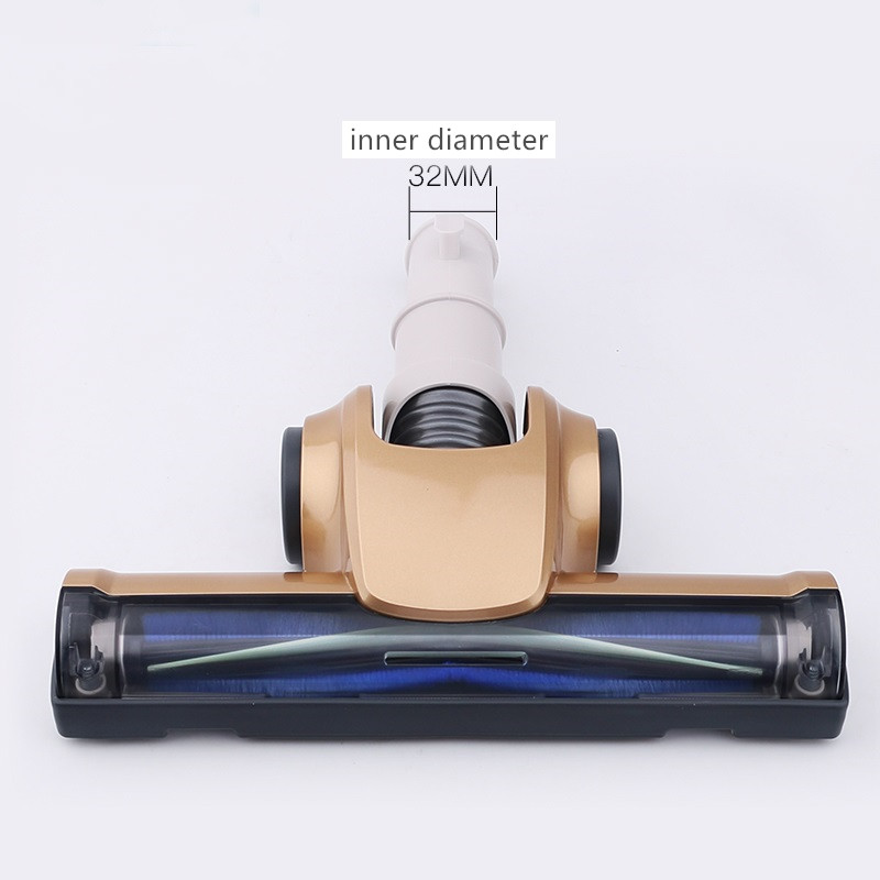 32mm Universal Nozzle Turbo Floor brush for Samsung Electrolux Philips LG Haier Midea etc vacuum cleaner parts Brushes head 0 45m 32mm 2 pcs vacuum cleaner universal straight extend tube pipe for philips rowenta lg haier midea electrolux sanyo