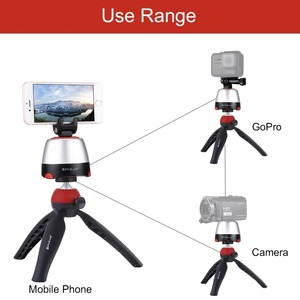 Image 5 - PULUZ Electronic Tripod 360 Degree Rotating Panoramic Tripod Head w/h Remote Controller For GoPro Iphone Smartphone DSLR Cameras