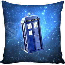 G0309 New Fashion pillow Cover Doctor Who Pillowcase 40x40cm Drop Shipping