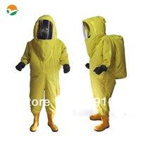 heavy duty protective suit chemical suit