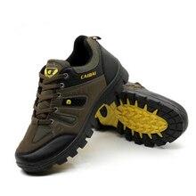 Новая стильная мужская походная обувь на шнуровке Мужская Спортивная обувь уличная беговая Обувь Трекинговые кроссовки Нескользящая износостойкая дорожная обувь