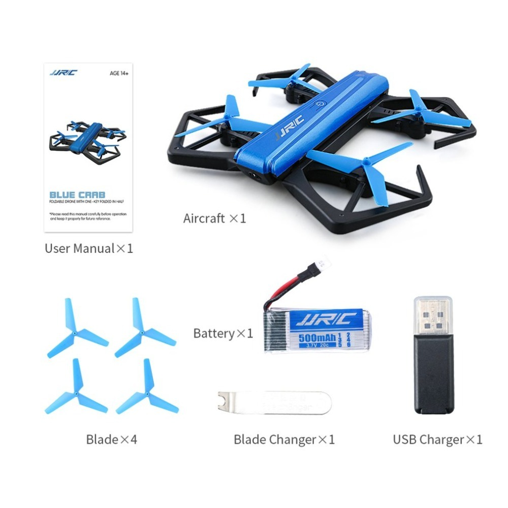 JJR/C H43WH WIFI FPV 720P HD Camera Dron Self-timer Quadcopter Foldable G-sensor Mini RC Selfie Drone QuadcopterJJR/C H43WH WIFI FPV 720P HD Camera Dron Self-timer Quadcopter Foldable G-sensor Mini RC Selfie Drone Quadcopter