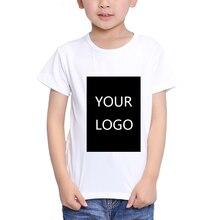 TEEHEART Personnalisé Impression t-shirt 18 M-10 T Enfant Votre Propre Design de Haute Qualité Envoyer Dans 3 jours Blanc Couleur