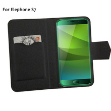 5 Colors Super! Elephone S7 Case Leather Full Flip Phone Cover,2017 High Quality Luxurious Phone Accessories On Sale