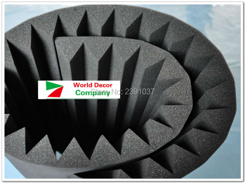 New arrival 2pcs Big size 200*100*5cm acoustic foam Soundproof - Home Decor