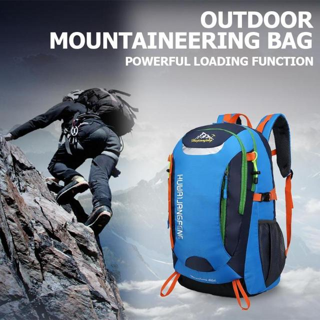 40L Waterproof Outdoor Backpack Sports Bag for Hiking Travel Mountaineering Rock Climbing Trekking Camping 2