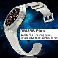 Anti Lost DM368 Quad Core 1 39inch 512Mb 8Gb MTK6580 1 3MP Camera Smart Watch With