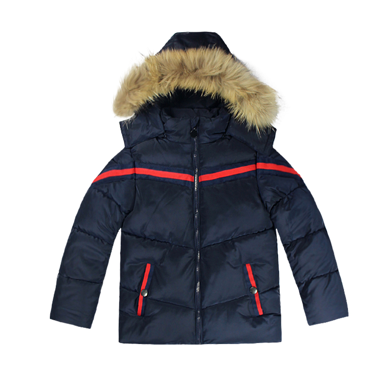 Mother & Kids Outerwear & Coats Punctual Baby Clothes Korean Childrens Down Jacket Girls Princess New Large Fur Collar Windproof Warm Childrens Coat Cotton Clothing Grade Products According To Quality