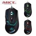 2016 imice x8 2400 dpi led optical 6d usb wired game gaming do mouse gamer Para PC computador Portátil atualização perfeita combinar x7 x9