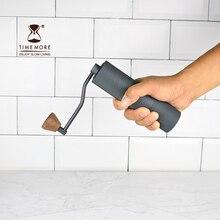 Yüksek kaliteli Manuel Kahve değirmeni 45 MM Alüminyum Kahve miller Siyah/Kahverengi 20g Mini Kahve freze makinesi için tek kahv...