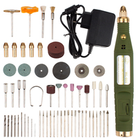 Power Type Mini Electric Drill Grinder With 80pcs Dril Bits Accessories Set Dremel Tool Engrave Pen US EU Carving Machine
