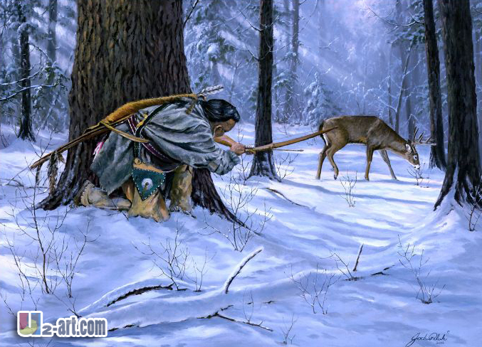 Deer Hunting Wall Papers Animal Picture Of Canvas Printings Art For Office  Decoration Printings Reproduction Of Picture In Painting U0026 Calligraphy From  Home ...
