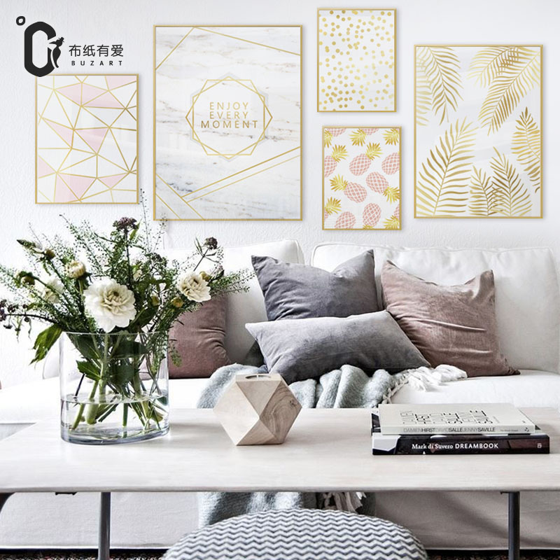Beautiful dreams Canvas Painting for Nordic Modern style liv