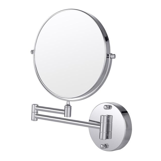 Cozzine 10x Double Sided Swivel Wall Mount Makeup Mirror Bathroom