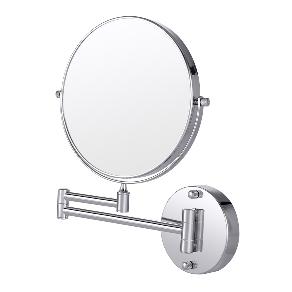 Cozzine Makeup Mirror 10X Magnifying Double-Sided Swivel Wall Mount Bathroom Mirror Dual Arm Extend Makeup Mirror Make Up Tool usb led makeup mirror maquiagem double sided wireless charge for phone led touch screen amplifier make up mirror cosmetics tool