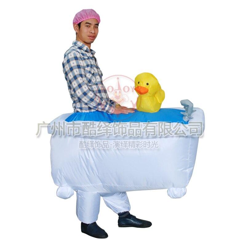 Badewanne Kostüm kostüm für frauen männer aufblasbare erwachsene badewanne