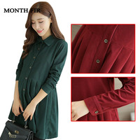 Maternity top Corduroy Maternity Blouses Shirts For Pregnant Women Pregnancy Clothes Maternity Shirts Clothing blusas maternales