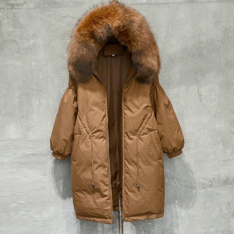 Oversize New Design 2018 Winter Jacket Women down jackets Loose duck down coat Women's Outerwear Parka downs coats parkas QH0992
