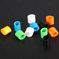 Free Shipping One Time Use Plastic Clasps For Bracelets Have Black And White Color For Your