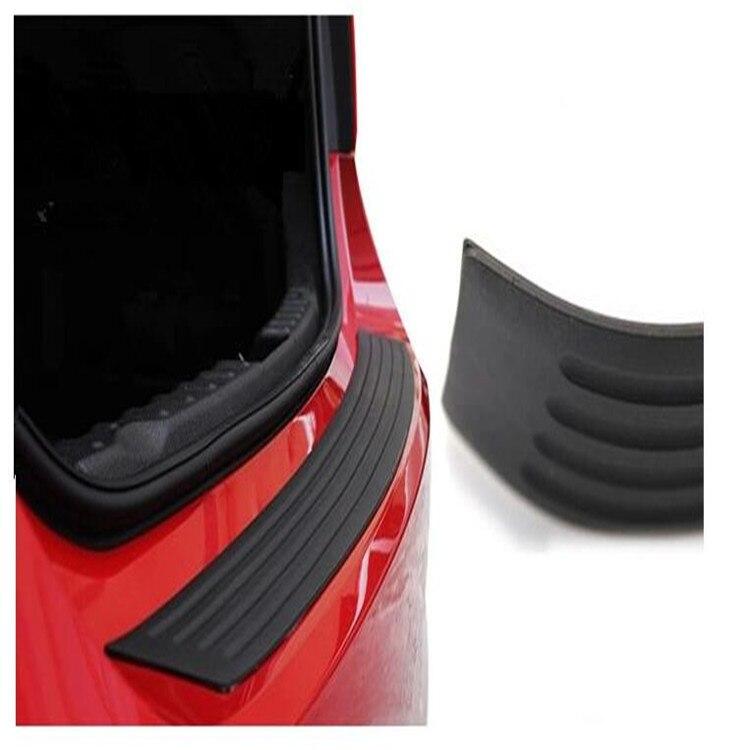Car Rubber Rear Guard Bumper Protector Trim For Cadillac CT6 XT5 ATS-L XTS SRX CTS STS ATS ESCALADE CTS Accessories