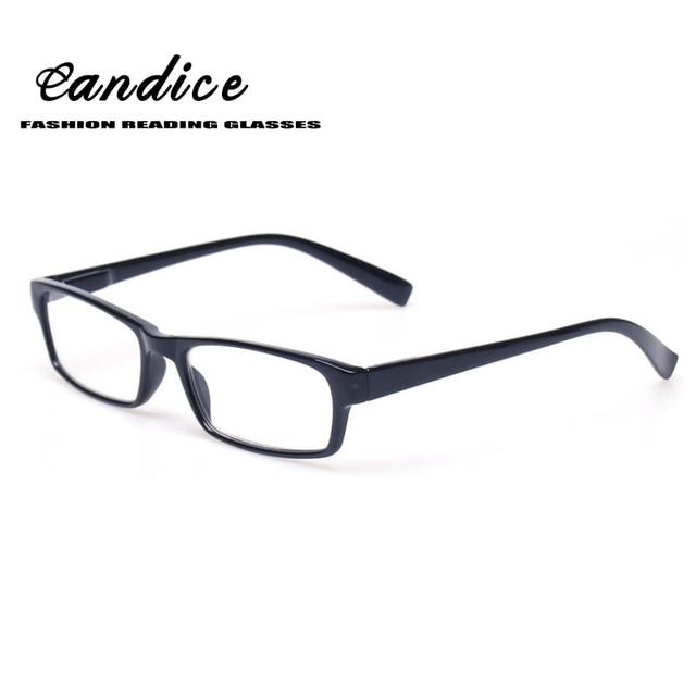 88232faae7c Reading Glasses Fashion Men and Women Large Frame Eyewears Spring Hinge  Rectangular Eyeglasses Inclue Sunglasses Readers. Rated 4.0 5 ...