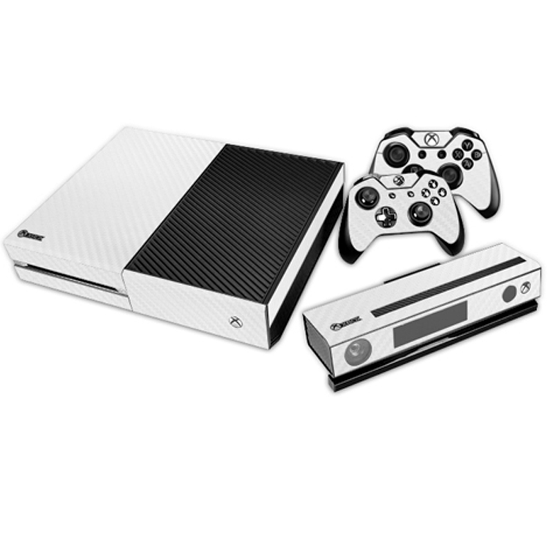 Six Color Carbon Fiber Vinyl Decal Skin Sticker Protector for Microsoft Xbox One and 2 controller skins Stickers for XBOXONE