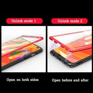 Image 3 - 三星 S10 S10e S10 プラス 5 グラム S8 S9 プラス注 8 9 スクリーンプロテクター強化ガラス A60 A70 磁気ケース