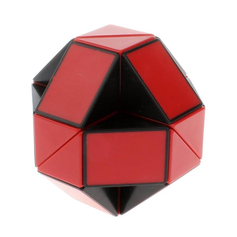 Snake Shape Puzzle Magic Speed Cube Twist Educational Toys Fidget Children Mini Neo Cubo Fidzhet 24 Segment Puzzles & Games