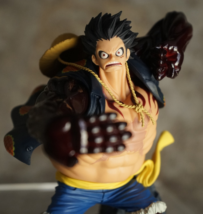 Anime  One piece Collectible Action Figure – Gear fourth Monkey D Luffy   17cm