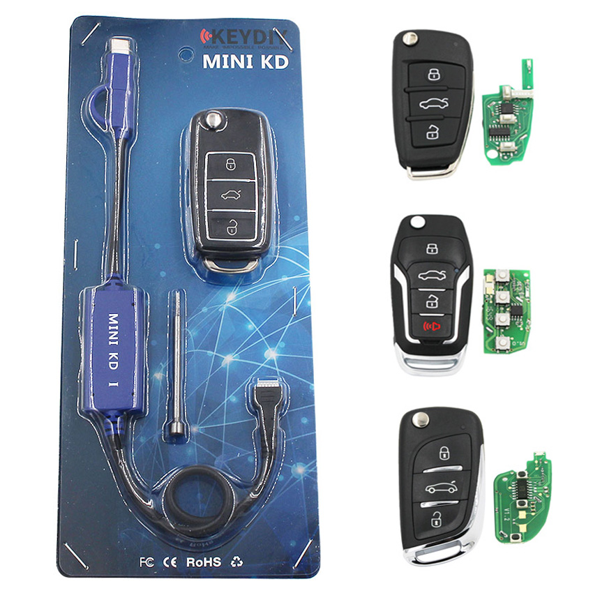 ecusells Mini KD Remote Key Generator Warehouse in mobile Phone Support Android 4pc