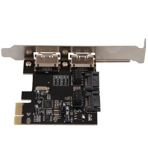 Акция! Горячая PCI E PCI Express для SATA 3,0 eSATA адаптер конвертер расширения карты