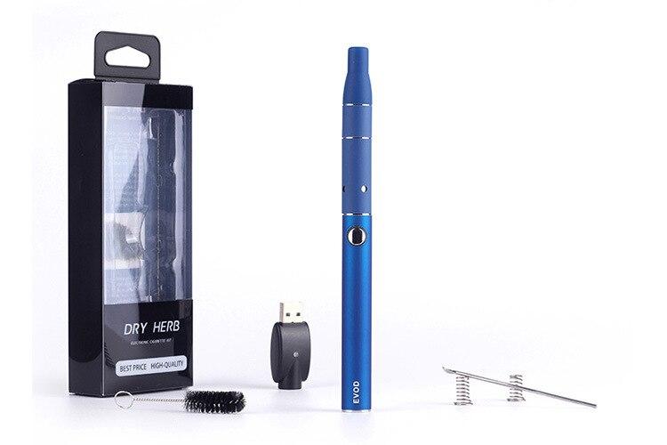 Herbe sèche vaporisateur cigarette Électronique evod 650 mah batterie mini kit il ya sec cire vaporisateur stylo g5 atomiseur kit de démarrage