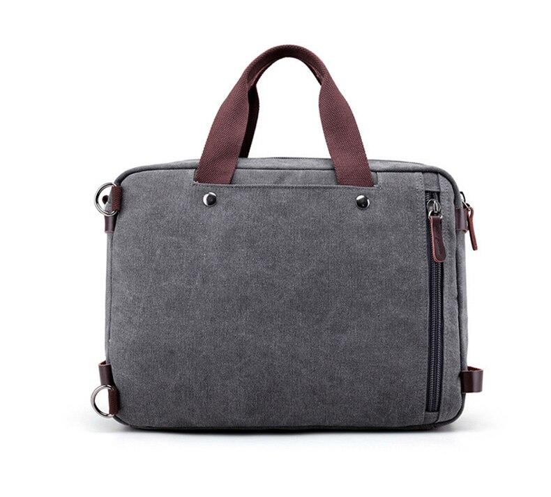 HTB1vhataUvrK1RjSspcq6zzSXXaP Men Canvas Briefcase Business Laptop Handbag Large Messenger Shoulder Bag Big Casual Male Tote Back Bags Travel Suitcase XA162ZC