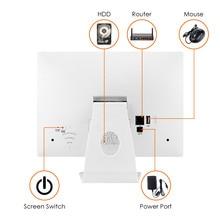 4CH CCTV System Wireless 960P 10″ LCD NVR 1.3MP IR Outdoor Wifi IP Camera Surveillance Kit 500GB
