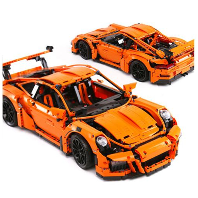 Lepin 20001 Race Car Model Building Kits Blocks Bricks Toys for Children Compatible with Legoingly Technic Car 42056 Boys Gifts