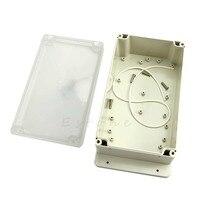 Горячая мм 120x200x75 мм прозрачный пластик водостойкий электронный проект коробка корпус