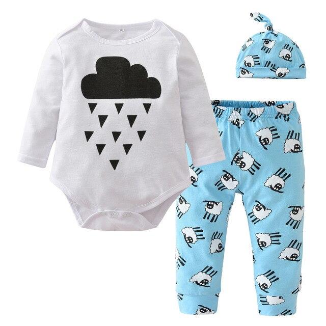 Aliexpress.com : Buy Autumn Baby Boy Clothes Newborn Baby Clothing ...
