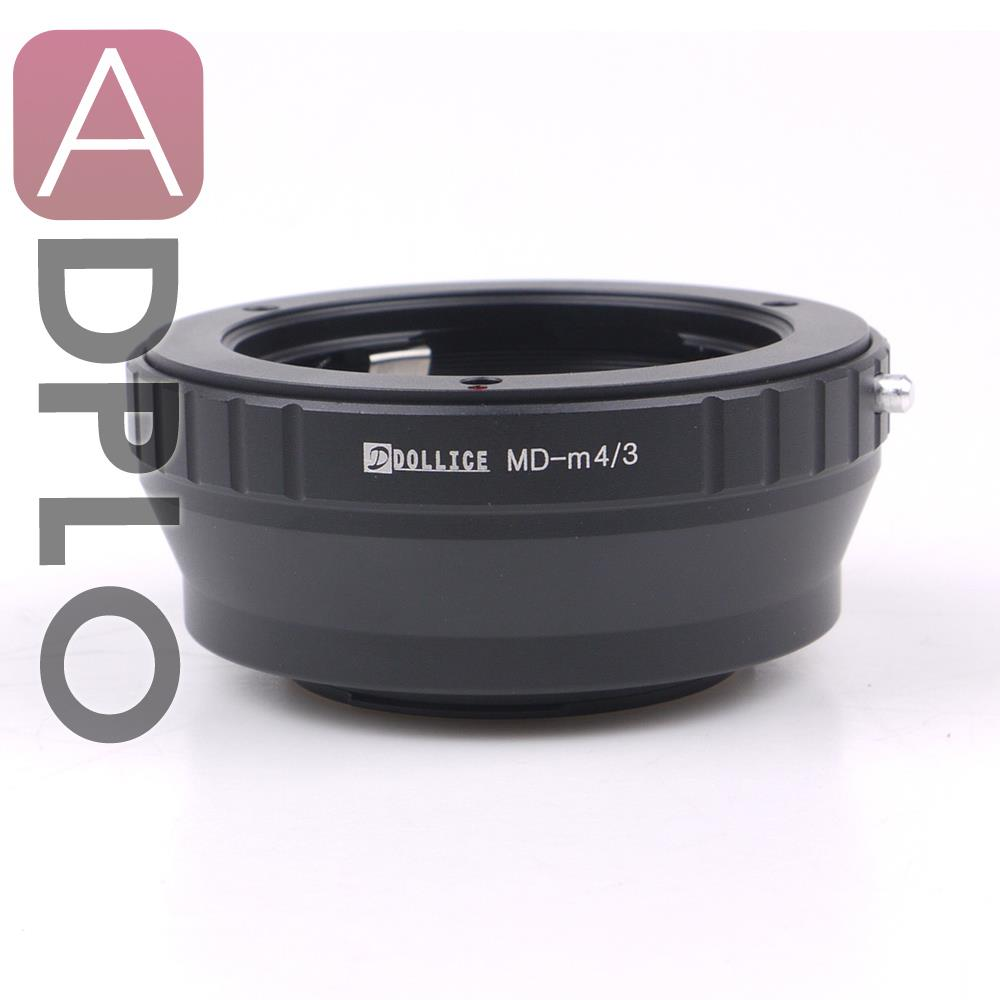 Dollice Mount Lens Adapter Ring  Suit For Minolta MD Lens to Micro Four Thirds 4/3 M4/3 M43 Camera GX8 G7 GF7 GH4 GM1 GX7 GF6