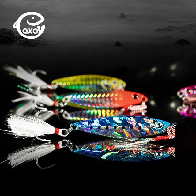 QXO Рыболовная Приманка 10 20 30 г светящийся крючок силиконовая приманка воблер блесна с вращающимся лепестком приманка ЗИМА Море лед Минноу снасти кальмар пеш осьминог
