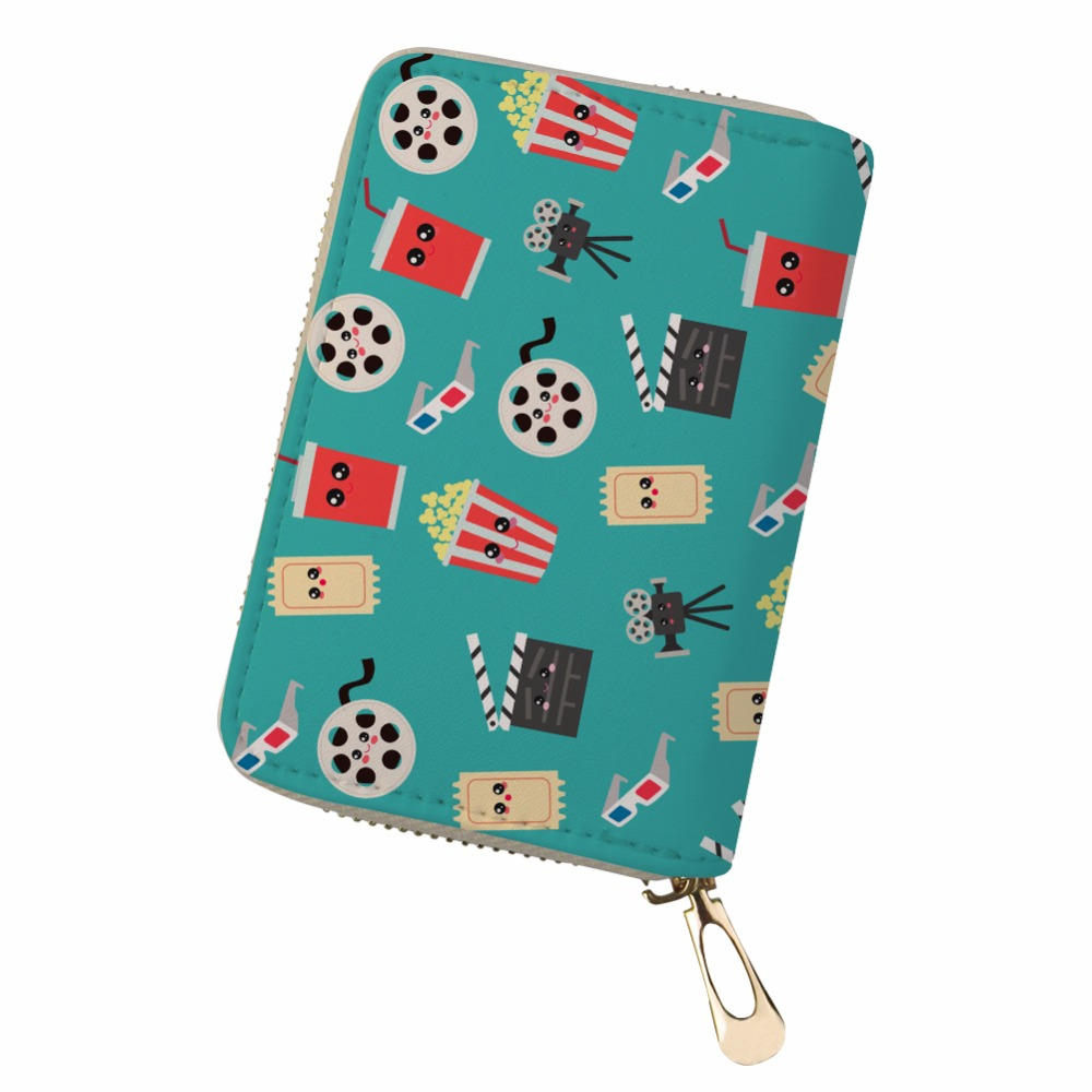 Noisydesigns travel Pochette wallet Pochette Surprise Double Business Card Delicious snacks slump chips cute Passport Holder