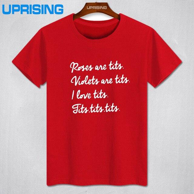 Ongebruikt Grappig Borst Gedicht Tekst t shirt T shirt Tee Gift Aanwezig VY-33