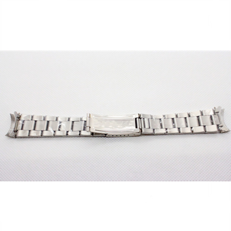 SILVER OYSTER WATCH BAND STRAP BRACELET FOR ROLE MEN 39 S SS 20MM WATCH PART in Watchbands from Watches