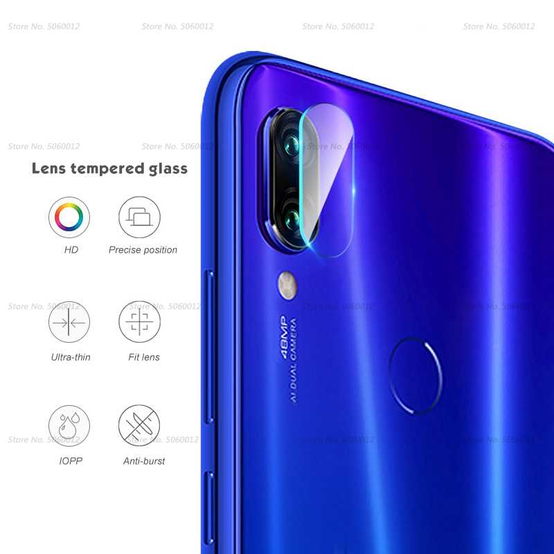 Clear Camera Tempered Glass For Xiaomi Redmi Note 7 6 Pro 5 Plus Camera Lens Film Redmi 7 6A S2 6 7S Phone Back Screen Protector