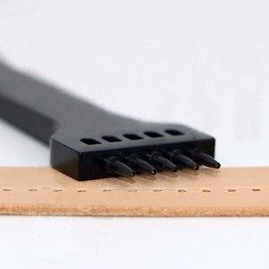 Image 5 - Herramienta para tallar cuero, 5 agujeros, agujero redondo, 5mm, PGF