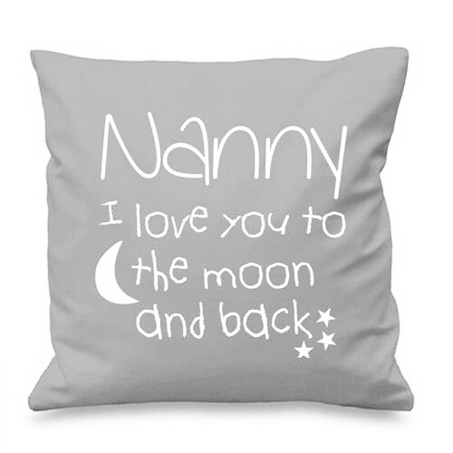 Hot Nanny I Love You To The Moon and Back Cushion Cover