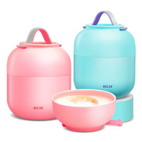 Insulated Food Box Jars Thermoses Food Container Vacuum Cup Environmental Thermal Insulation Lunch Box Thermos Lunch Box