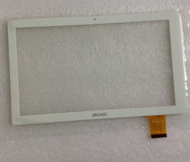 White New For 10.1 inch Archos 101d Neon Tablet touch screen panel Digitizer Glass Sensor replacement Free Shipping new for 9 7 archos 97c platinum tablet touch screen panel digitizer glass sensor replacement free shipping