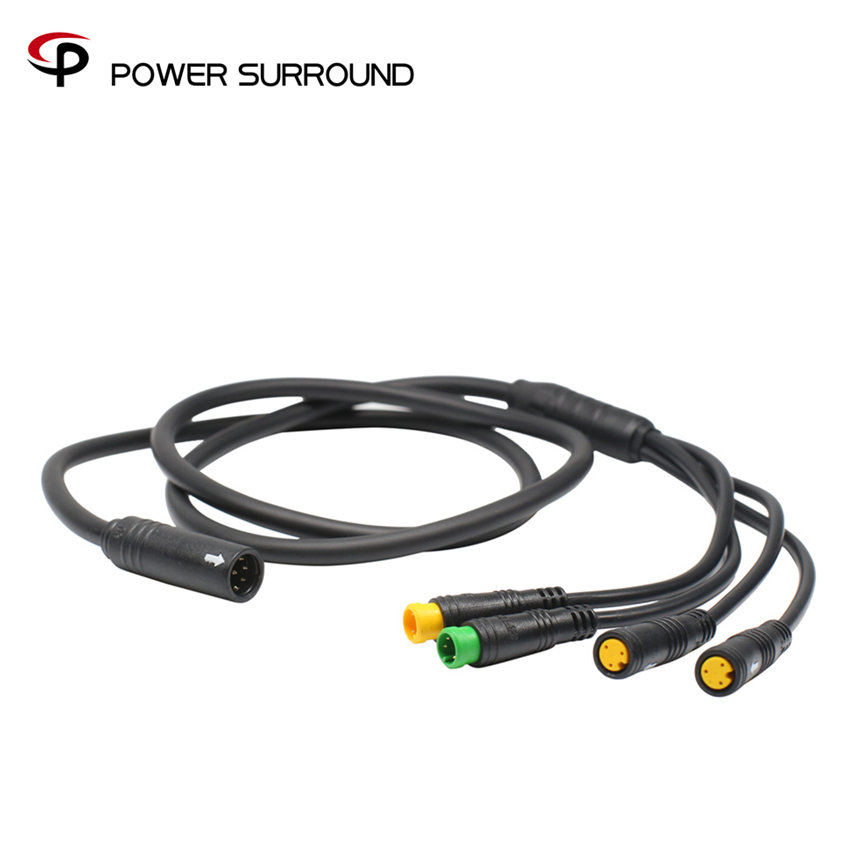 8fun/Bafang BBS motor EB-BUS waterproof cable 1T4