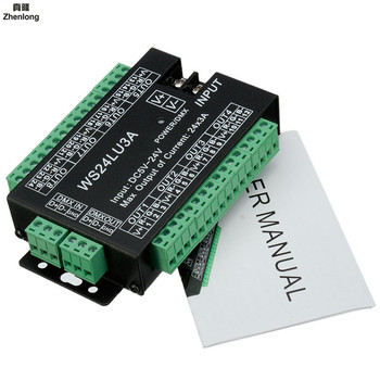 High Power 24 Channel 3A/CH DMX512 Controller Led Decoder Dimmer DMX 512 RGB LED Strip Controller DMX Decoder Dimmer Driver LED high power 24 channel 3a ch dmx512 controller led decoder dimmer dmx 512 rgb led strip controller dmx decoder dimmer driver led